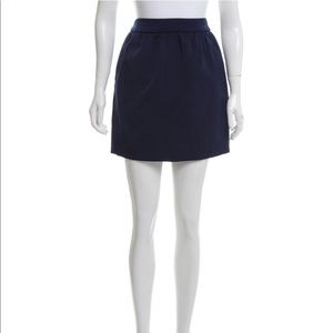 Balenciaga ruched accented MINI skirt